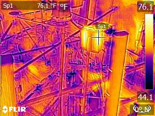 Air Reel Technologies Cell Tower thermal
